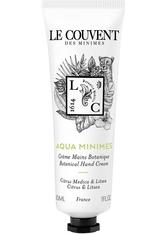 Le Couvent Des Minimes Le Couvent Des Minim - Les Colognes Botaniques Aqua Minimes - Handcreme - 30 Ml -