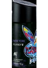 Playboy Herrendüfte New York Deodorant Body Spray 150 ml