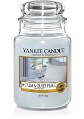 Yankee Candle Housewarmer A Calm & Quiet Place Duftkerze 0,623 kg