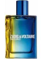 ZADIG & VOLTAIRE This is Him! This is Love! Pour Lui Eau de Toilette Nat. Spray (50ml)