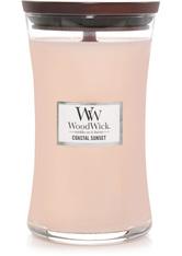 WoodWick Coastal sunset Large Hourglass Duftkerze  610 g