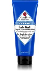 Jack Black Körperpflege Turbo Wash Energizing Cleanser for Hair & Body Hair & Body Wash 295.0 ml