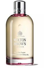 Molton Brown Body Essentials Fiery Pink Pepper Pampering Bathing Oil Badeöl 200.0 ml