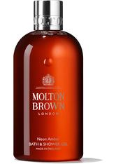 Molton Brown Body Essentials Neon Amber Bath & Shower Gel Duschgel 300.0 ml
