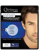 QIRINESS MEN - QIRINESS MEN Wrap Hydratant Moisture Purity Mask Tuchmaske  1 Stk - Tuchmasken