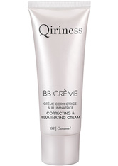 QIRINESS Gesichtspflege BB Crème Correcting & Illuminating Cream - getönte Tagespflege 40 ml Caramel