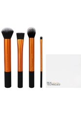 Real Techniques Original Collection Base Base Flawless Base Set Contour Brush + Square Foundation Brush + Detailer Brush + Buffing Brush + Cup 1 Stk.