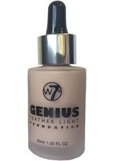 W7 - W7 Cosmetics Genius Foundation True Beige 30 ml - FOUNDATION