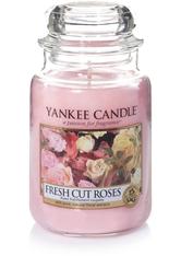 Yankee Candle Housewarmer Fresh Cut Roses Duftkerze 0,623 kg