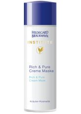 Hildegard Braukmann Pflege Institute Rich & Pure Creme Maske 50 ml