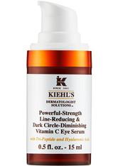 Kiehl's Augenpflege Powerful-Strength Line-Reducing & Dark Circle Diminishing Vitamin C Eye Serum Augenpflege 15.0 ml