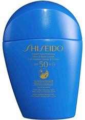 Shiseido Sonnenschutz Expert Sun Protector Face & Body Lotion SPF 50+ Sonnencreme 50.0 ml