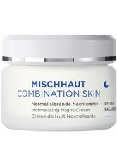 ANNEMARIE BÖRLIND MISCHHAUT Normalisierende Nachtcreme Gesichtscreme 50.0 ml