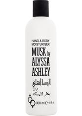 Alyssa Ashley Unisexdüfte Musk Hand & Body Moisturiser 300 ml