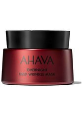 AHAVA - AHAVA Apple Of Sodom Overnight Deep Wrinkle Mask + gratis AHAVA Extreme Firming Eye Cream 15 ml 50 Milliliter - SLEEP MASKS
