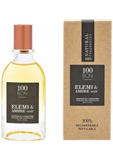 100BON - 100BON Duft Collection Elemi & Ambre Noir Concentré Nat. Spray 50 ml - PARFUM