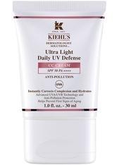 Kiehl's Gesichtspflege Feuchtigkeitspflege Ultra Light Daily UV Defense CC Cream SPF 50 PA ++++ Nr. 1 30 ml