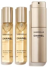CHANEL GABRIELLE CHANEL EAU DE PARFUM NACHFÜLLBARES TWIST AND SPRAY 60 ml