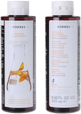 KORRES - KORRES Shampoos Sunflower & Mountain Tea - für coloriertes Haar 250 ml Haarshampoo 250.0 ml - Shampoo