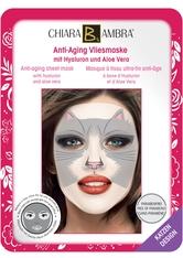 CHIARA AMBRA Tierdesign-Masken Feuchtigkeits-Vliesmaske Katze 1 Stck.