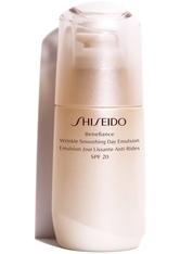 Shiseido Benefiance Wrinkle Smoothing Day Emulsion SPF20 Gesichtsemulsion 75.0 ml