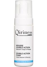 QIRINESS MEN - QIRINESS MEN Mousse Double Action Double Action Foam Reinigungsschaum  125 ml - Reinigung