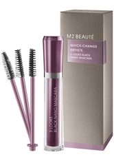 M2 BEAUTÉ - m2 Beauté 3 Looks Black Nano Mascara - MASCARA