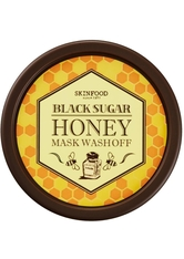 SKINFOOD Black Sugar Honey Mask Wash Off Gesichtsmaske  100 g