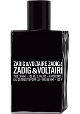 ZADIG&VOLTAIRE ZADIG & VOLTAIREThis is Him! Eau de Toilette Nat. Spray 100 ml