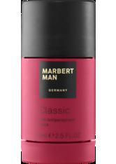 Marbert Man Classic 24 Hour Antiperspirant Stick 75 ml Deodorant Stick