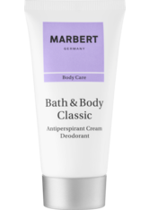 Marbert B&B Classic Antiperspirant Cream Deo 50 ml Deodorant Creme