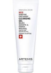 Artemis Med Sensitive Face &amp Body Cleansing Gel 250 ml