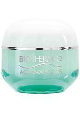 Biotherm Aquasource Air Cream SPF 15 für normale und Mischhaut Gesichtscreme 50.0 ml
