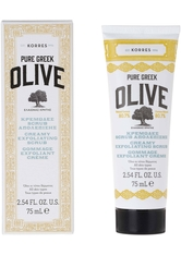 KORRES - KORRES Peelings & Masken OLIVE Creamy Exfoliating Scrub - all skin types 75 ml - PEELING
