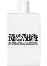 ZADIG & VOLTAIRE - Zadig & Voltaire This is Her! Body Lotion - Körperlotion 200 ml Bodylotion - Körpercreme & Öle