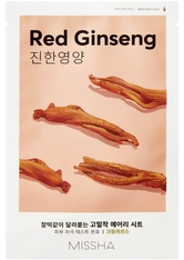 Missha Masken Airy Fit Sheet Mask Red Ginseng (19g)