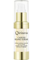 QIRINESS - QIRINESS Gesichtspflege Caresse Regard Sublime - Augencreme 15 ml - Augencreme