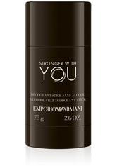 GIORGIO ARMANI - Giorgio Armani Emporio Armani Stronger With You Alcohol-Free Deodorant Stick 75 g - DEODORANT