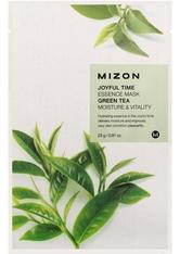 Mizon Gesichtsmaske Joyful Time Essence mask pack GREEN TEA 23 g