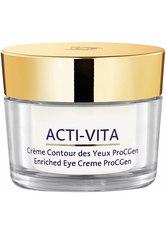 Monteil Produkte Monteil Produkte Acti-Vita - Enriched Eye Creme ProCGen 15ml Gesichtscreme 15.0 ml