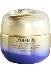 SHISEIDO - Shiseido - Vital Perfection Overnight Firming Treatment - Gesichtscreme - 50 Ml - - NACHTPFLEGE