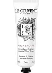 Le Couvent Des Minimes Le Couvent Des Minim - Les Colognes Botaniques Aqua Sacrae - Handcreme - 30 Ml -