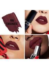 Dior - Rouge Dior – Nachfüllbarer Lippenstift – Satiniert, Matt, Metallic & Samtig - -rouge Dior Extreme Matte 886 Enigmatic