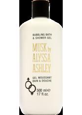 Alyssa Ashley Unisexdüfte Musk Bath & Shower Gel 500 ml