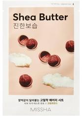 Missha Masken Airy Fit Sheet Mask Shea Butter (19g)