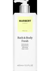 Marbert Bath & Body Fresh Erfrischende Körperlotion 400 ml