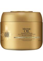 L'Oréal Professionnel Serie Expert Mythic Oil Maske Normales bis Feines Haar 75 ml