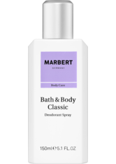 Marbert Bath & Body Classic Natural Deodorant Spray (150ml)