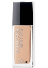DIOR DIOR FOREVER SKIN GLOW 24H* WEAR HIGH PERFECTION SKIN-CARING FOUNDATION 30 ml