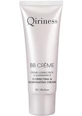 QIRINESS Gesichtspflege BB Crème Correcting & Illuminating Cream - getönte Tagespflege 40 ml Medium